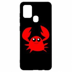 Etui na Samsung A21s Embarrassed crab