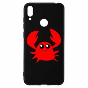 Etui na Huawei Y7 2019 Embarrassed crab