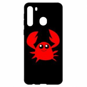 Etui na Samsung A21 Embarrassed crab