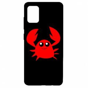 Etui na Samsung A51 Embarrassed crab