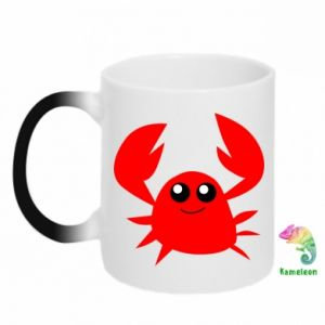 Kubek-magiczny Embarrassed crab