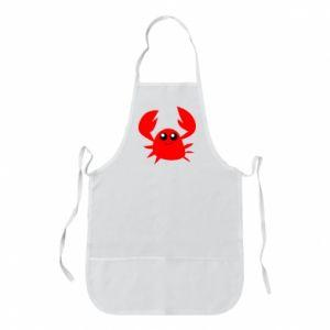 Fartuch Embarrassed crab