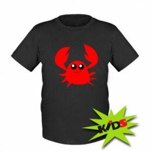 Koszulka dziecięca Embarrassed crab