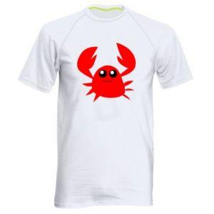 Koszulka sportowa męska Embarrassed crab