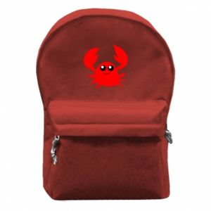Plecak z przednią kieszenią Embarrassed crab