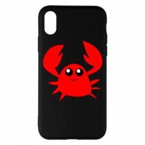 Etui na iPhone X/Xs Embarrassed crab
