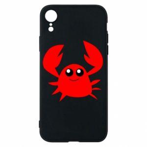 Etui na iPhone XR Embarrassed crab