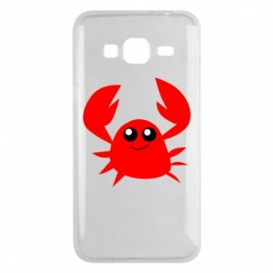 Etui na Samsung J3 2016 Embarrassed crab