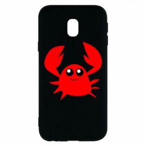 Etui na Samsung J3 2017 Embarrassed crab