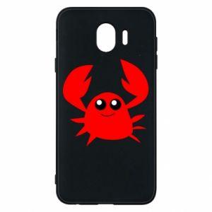 Etui na Samsung J4 Embarrassed crab