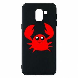 Etui na Samsung J6 Embarrassed crab