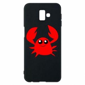 Etui na Samsung J6 Plus 2018 Embarrassed crab