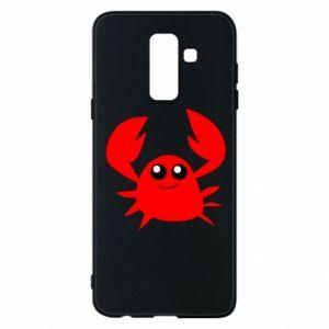 Etui na Samsung A6+ 2018 Embarrassed crab