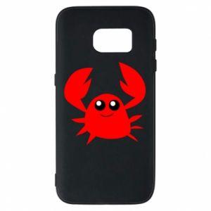 Etui na Samsung S7 Embarrassed crab