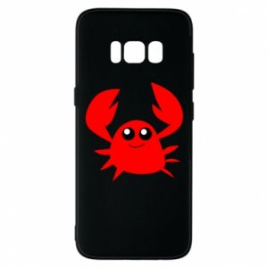 Etui na Samsung S8 Embarrassed crab