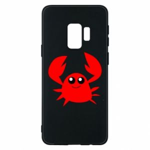 Etui na Samsung S9 Embarrassed crab