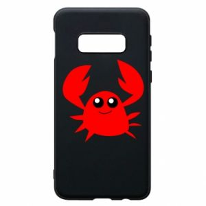 Etui na Samsung S10e Embarrassed crab