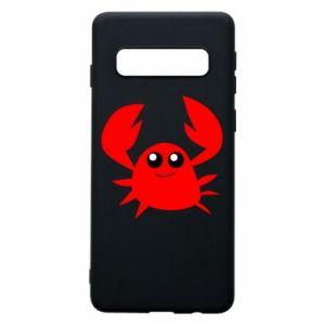 Etui na Samsung S10 Embarrassed crab