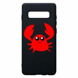 Etui na Samsung S10+ Embarrassed crab