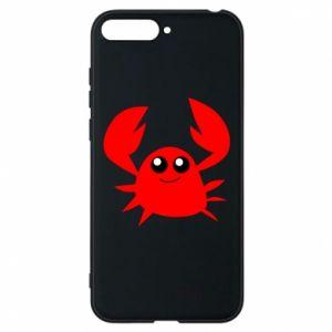 Etui na Huawei Y6 2018 Embarrassed crab
