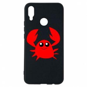 Etui na Huawei P Smart Plus Embarrassed crab