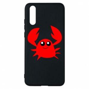Etui na Huawei P20 Embarrassed crab
