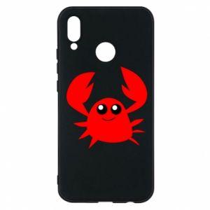 Etui na Huawei P20 Lite Embarrassed crab