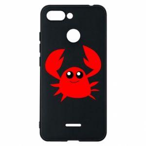 Etui na Xiaomi Redmi 6 Embarrassed crab