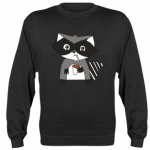 Bluza Embarrassed raccoon with glass