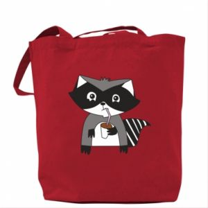 Torba Embarrassed raccoon with glass