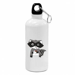 Bidon turystyczny Embarrassed raccoon with glass