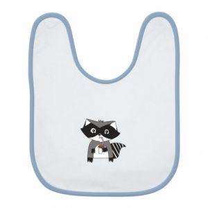 Śliniak Embarrassed raccoon with glass
