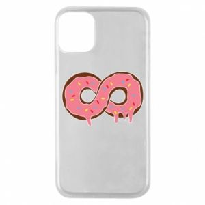 Phone case for iPhone 11 Pro Endless donut - PrintSalon