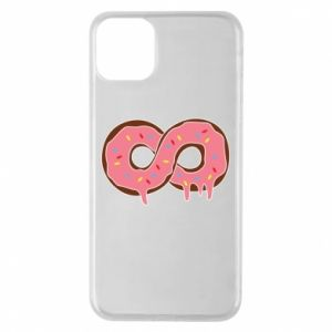Phone case for iPhone 11 Pro Max Endless donut - PrintSalon