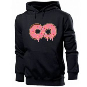Men's hoodie Endless donut - PrintSalon