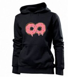 Women's hoodies Endless donut - PrintSalon