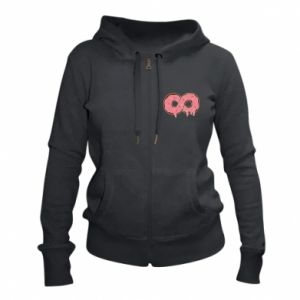 Women's zip up hoodies Endless donut - PrintSalon