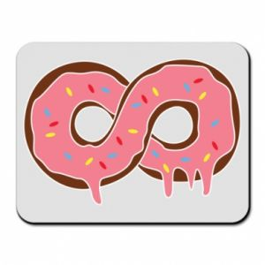 Mouse pad Endless donut - PrintSalon