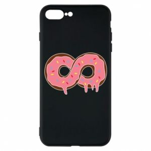 Phone case for iPhone 7 Plus Endless donut - PrintSalon