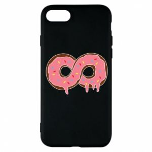 Phone case for iPhone 8 Endless donut - PrintSalon