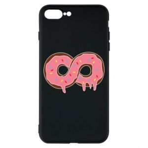 Phone case for iPhone 8 Plus Endless donut - PrintSalon