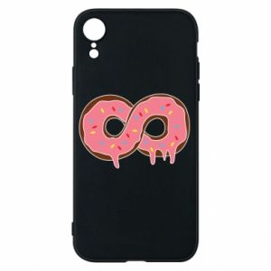 Phone case for iPhone XR Endless donut - PrintSalon