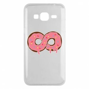 Phone case for Samsung J3 2016 Endless donut - PrintSalon