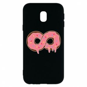 Phone case for Samsung J3 2017 Endless donut - PrintSalon