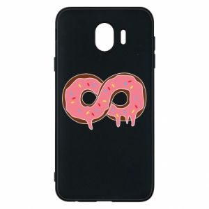 Phone case for Samsung J4 Endless donut - PrintSalon