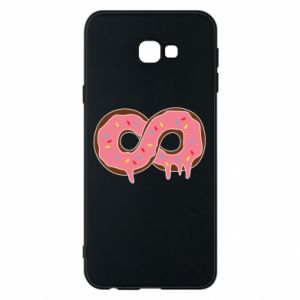 Phone case for Samsung J4 Plus 2018 Endless donut - PrintSalon