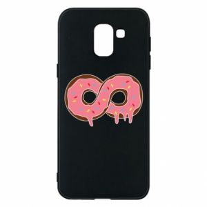 Phone case for Samsung J6 Endless donut - PrintSalon