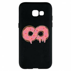 Phone case for Samsung A5 2017 Endless donut - PrintSalon