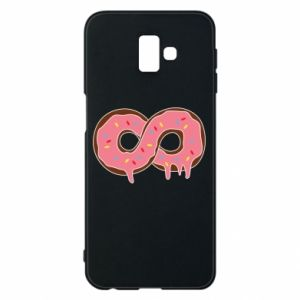 Phone case for Samsung J6 Plus 2018 Endless donut - PrintSalon