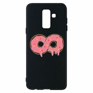 Phone case for Samsung A6+ 2018 Endless donut - PrintSalon